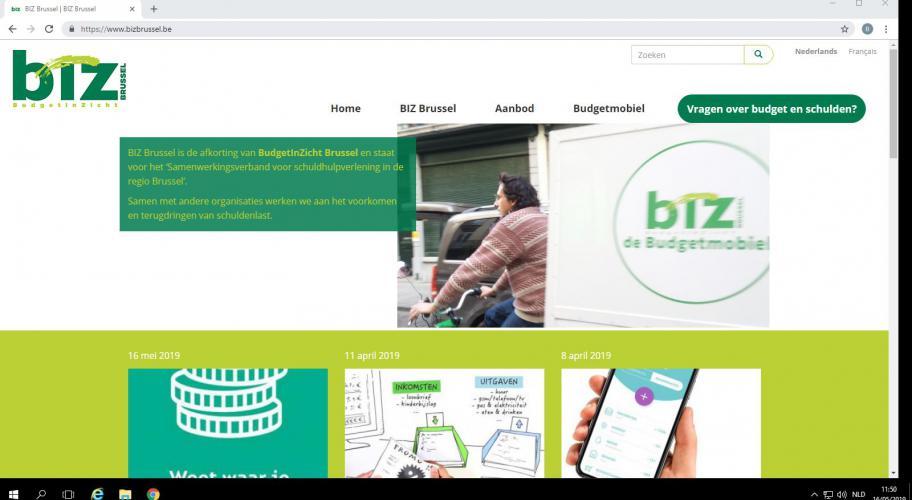 websiteBIZBrussel